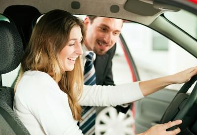 prøvetur i bil
